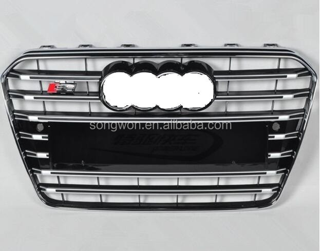 car front grille for 2013-2015 audi S5