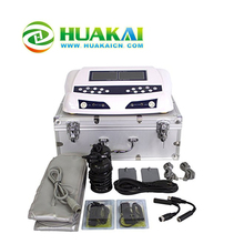 Newest &Hot Sell Dual HK-805D With Tens Pads and FIR Adjustable Temperature Slimming belts dual detox cell spa machine