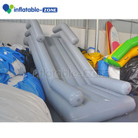 Small inflatable yacht slide, mini inflatable water slide for yacht