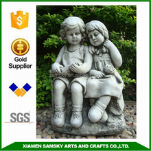 garden decoration loving couple figurine