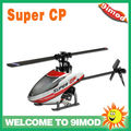 Hot Walkera Super CP Flybarless rc toy 6CH 3D 3G RC Helicopter BNF