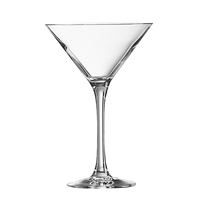 Signature Martini Cocktail Glasses Domino stem Martini Glasses