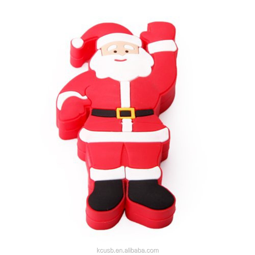 wholesale alibaba Santa Claus usb flash drive 1gb for christmas