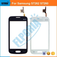 For Samsung Star Pro S7262 7262 GT-S7262 S7260 7260 GT-S7260 Touch Screen Digitizer With Flex Cable