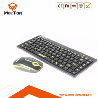 Newest wireless bluetooth keyboard and mouse