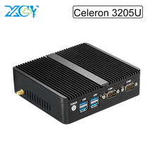 Powerful Celeron Dual Core CPU Windows7 Mini PC with 3755U 1.7GHz Desktop computador 8G Ram 32G SSD 8 Vga 2*RS232