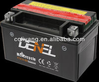 12V 4AH YTX7A-BS motorcycle parts/motorbike batteries