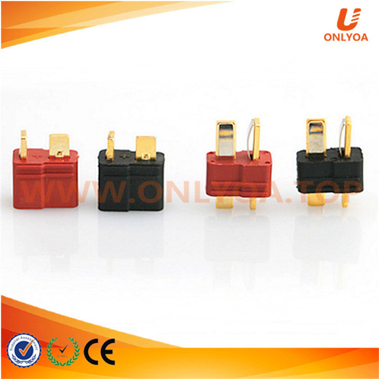 T Plug Male Female Deans electrical rc motor connectors