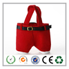 Promotion Red Santa Claus pants Christmas candy bag New for 2016