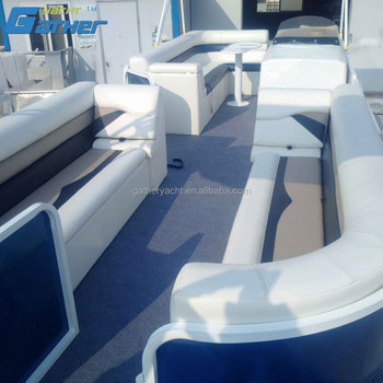 GATHER YACHT 25FT ALUMINUM PONTOON PASSENGER BOAT
