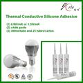 white heat transfer glue for led bulb