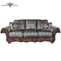 Italian Living Rooms Furniture Wood Sofa