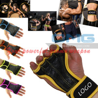 PREMIUM QUALITY Workout Gloves Fitness Crossfit WODS GYM Weight Lifting Grips Silicon Padding Callus Guard Wrist Support Wrap