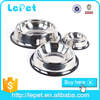 wholesale low price stainless steel metal large dog feeder