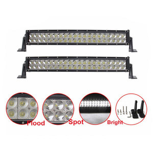 "Slim Design 120W 20"" Amber White Offroad 4x4 Wholesale led light bar 20inch"