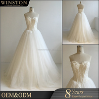 OEM ODM customized saudi arabia wedding dress
