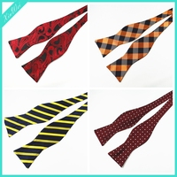 Wholesale Cheap Checked Self Bow Tie