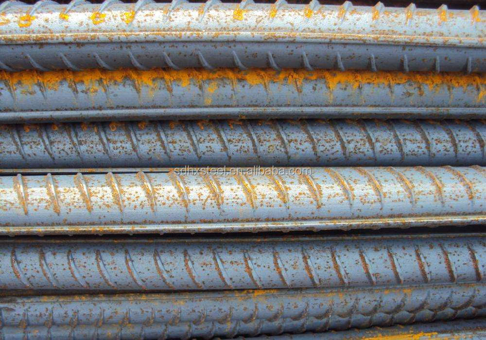 building construction iron rod / deformed steel rebar size