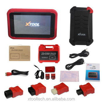Original XTOOL X100 PAD Same as X300 Plus X300 Pro Auto Key Programmer with Special Functions Free Update Online Free Shipping