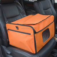 Collapsible Pet Booster Seat/Dog Car Seat/Dog Booster Seat