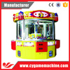 Funny Toy Claw Crane Game Machine 4 Seats Vending Castle