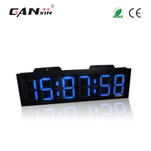 "[Ganxin]8"" Led Double Side Swimming Race Timer waterproof outdoor clock"