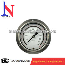 Mpa pressure gauge with flange