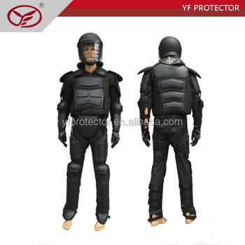Self Defense Police equipment anti riot gear with helmet