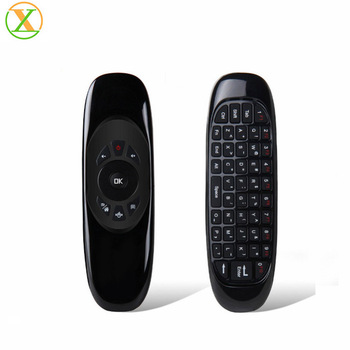 Xlintek 2.4G wireless keyboard air mouse C120 for smart tv