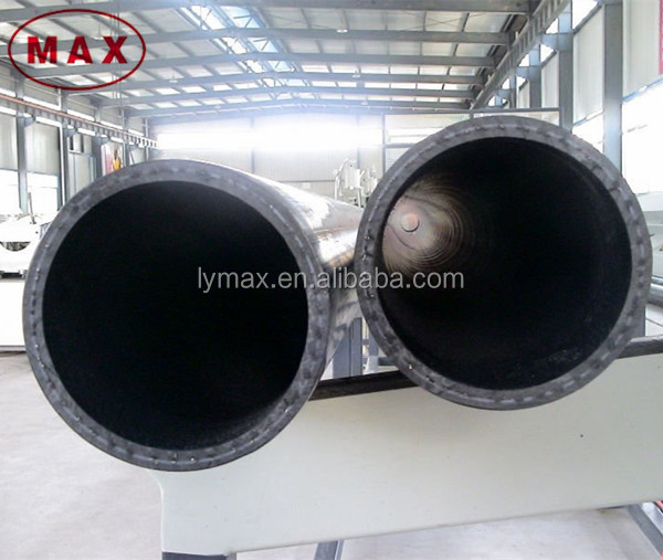 Steel wire reinforced high density polyethylene pipes