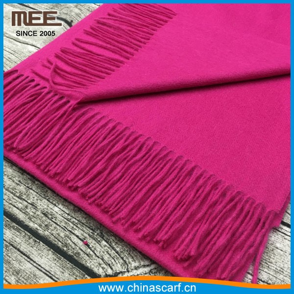 yarn dye Washable hot sell 100% wool scarf