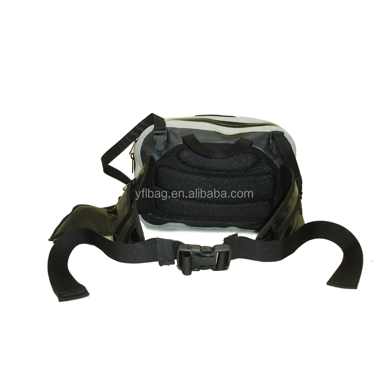 2019 best selling waterproof fishing waist bag for sports