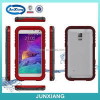 Alibaba China New Product PC Waterproof Cell Phone Case for Samsung Galaxy Note 4