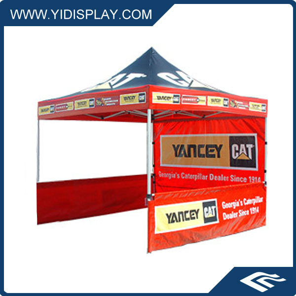 10x10 Outdoor portable Deluxe Showstopper Canopy with Half sidewall