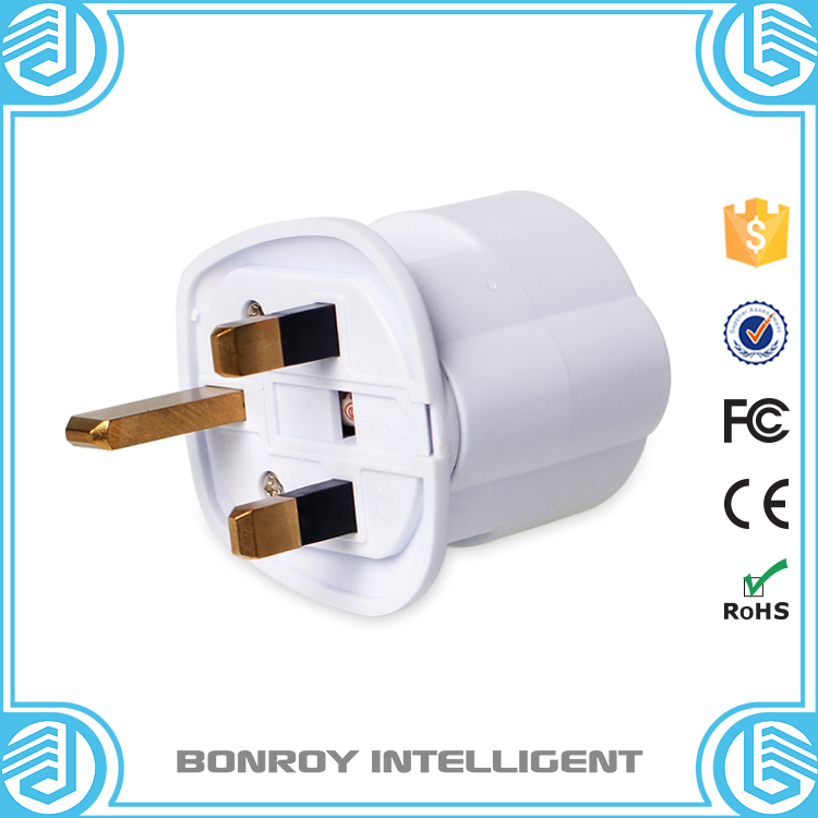 Free sample ABS and full brass 3 flat pin to electrical schuko plug socket