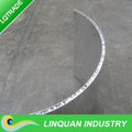 Curved Aluminum Honeycomb Panel