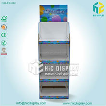 HIC toys cardboard display case high quality and good quality