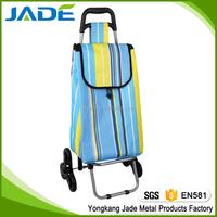 Folding shopping trolley shopping trolley cart travel luggage cart