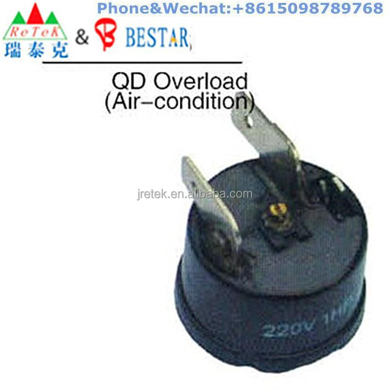 refrigeration parts spare overload protector switch