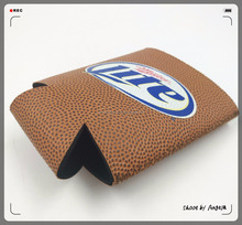 Officially Licensed Basketball Sport Style Can Bottle Cooler Cover For Miller Lite Beer Can Bottle