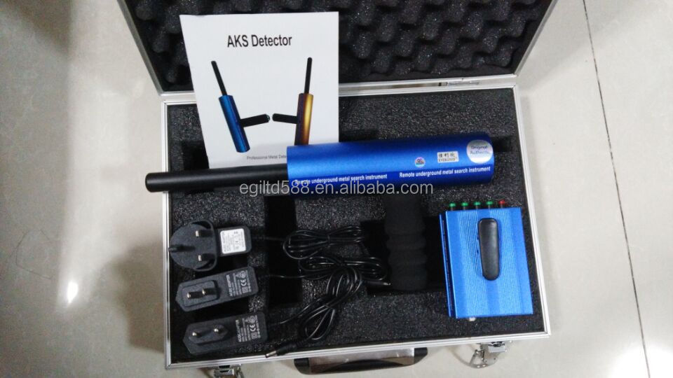 Professional Aks Gold Detector Long Range Gold Diamond Detector AKS 3D Metal Detector Gold Digger with Blue Color