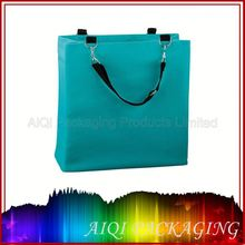 Small rope handle tote bag/canvas packaging bag