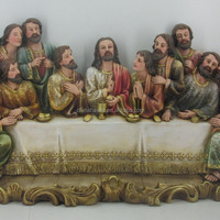 Factory Price Color Resin Last Supper