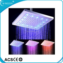 LED Color Changing 300x300 mm ABS Rainfall LED Shower Head