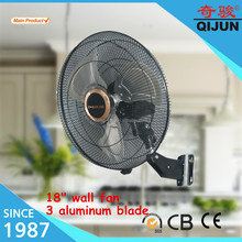 Best price 18 inch wall mount oscillating fan with power consumption