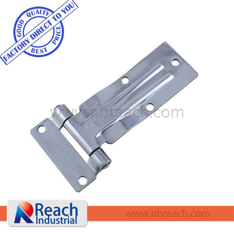 Key-locking Recessed Truck T handle Paddle Lock with Gray Powder Coating