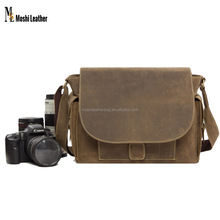 JW826 Genuine Leather Digital Camera Bag DSLR/SLR Professional Camera Bag Insert Padded Leather WaterProof Camera Bag for NX300