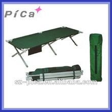 Travelling used portable aluminum frame camping bed
