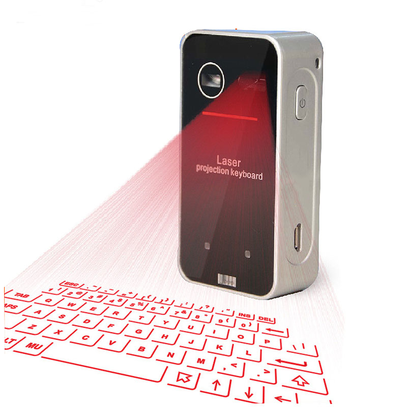 Bluetooth Laser keyboard Wireless Virtual Projection keyboard Portable for Smart Phone Ipad Tablet PC Notebook
