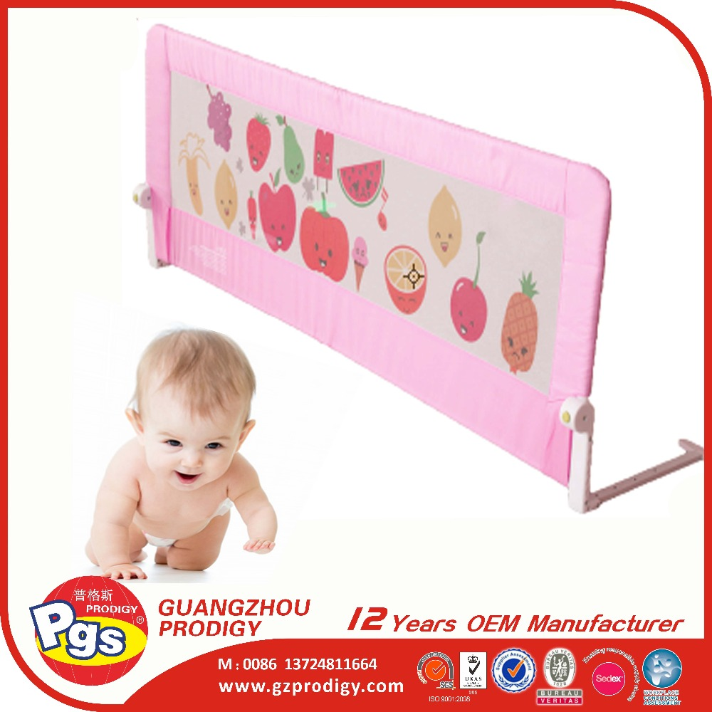 popular household collapsible bed rail baby bed rail protection